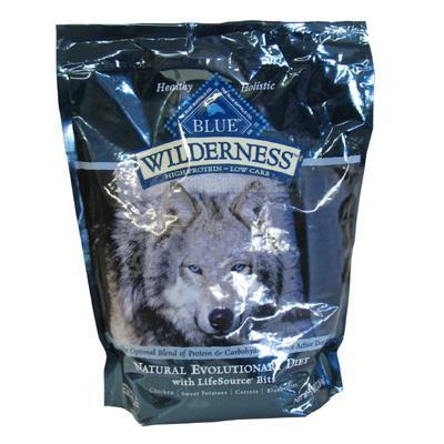 Blue Wilderness 5 lb High Protein Low Carb Food For Dogs