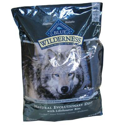 Blue Wilderness 11 lb High Protein Low Carb Food For Dogs