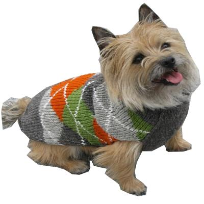 Handmade Dog Sweater Wool Trendy Boy Large