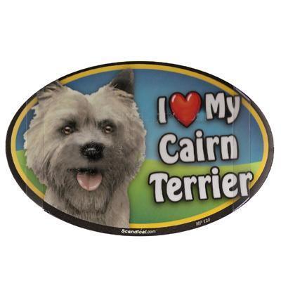 Dog Breed Image Magnet Oval Cairn Terrier