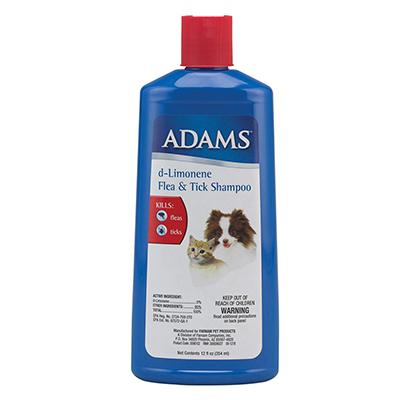 Adams D-Limonene Flea & Tick Dog and Ca Shampoo