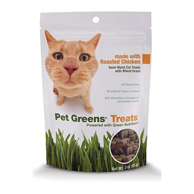 Pet Greens Chicken Cat Treats 3oz