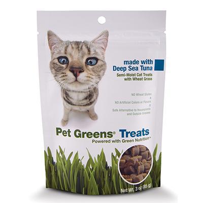 Pet Greens Tuna Cat Treats 3oz Click for larger image