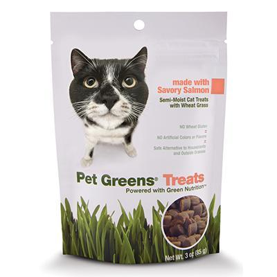 Pet Greens Salmon Cat Treats 3oz