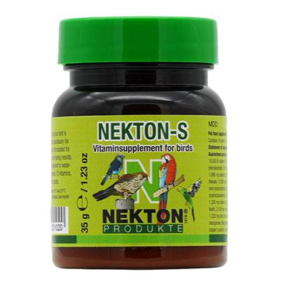 Nekton-S Multi-Vitamin For Birds  35g (1.23oz) Click for larger image