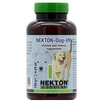 Nekton-Dog-VM Canine Vitamin, Mineral, Trace Supplement 120g Click for larger image