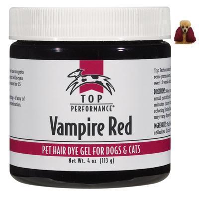 Top Performance Pet Hair Dye Gel Vampire Red
