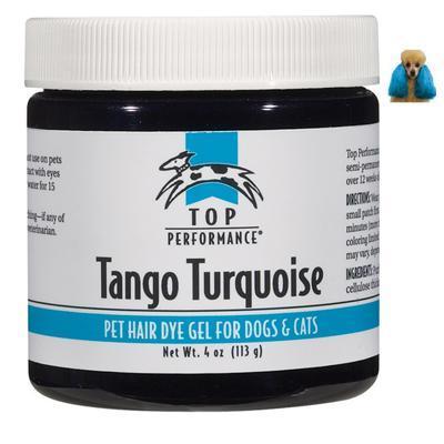 Top Performance Pet Hair Dye Gel Tango Turquoise