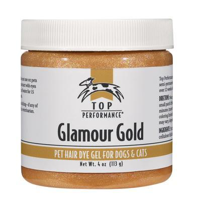 Top Performance Pet Hair Dye Gel Glamour Gold