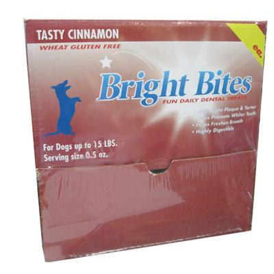 Bright Bites Cinammon Small Case Dog Dental Treat