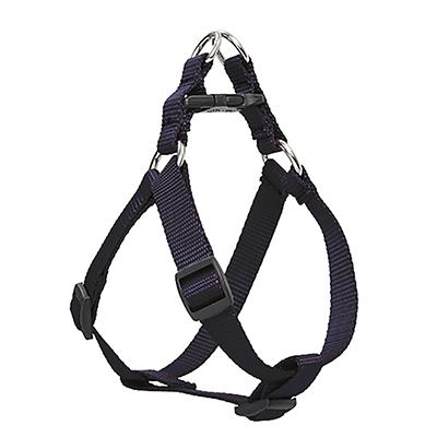 Lupine Nylon Dog Harness Step In Black 24-38