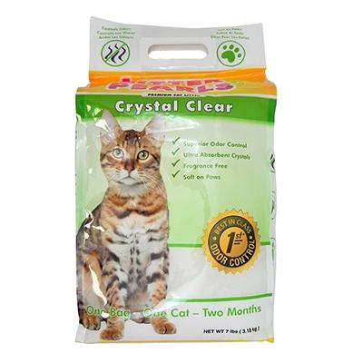 Litter Pearls Crystal Clear Cat Litter 7 pound Click for larger image