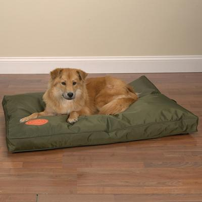 Slumber Pet Toughstructable Bed Green 42x28 Inch
