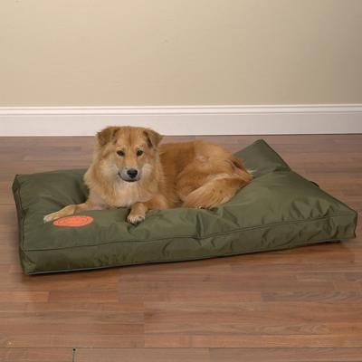 Slumber Pet Toughstructable Bed Green 36x23 Inch