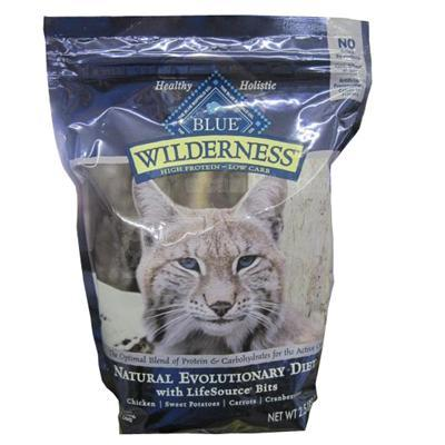 Blue Buffalo Wilderness Chicken 2.5 lb Cat Food