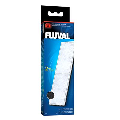 Fluval U3 Filter Stage 2 Poly/Carbon Cartridge 2 pack