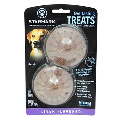 Everlasting Treats refill Liver Medium 2 pack Dog Treat