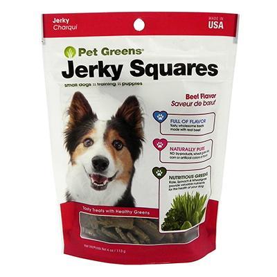 Pet Greens Savory Beef Organic Wheat Grass Dog Treats 4oz
