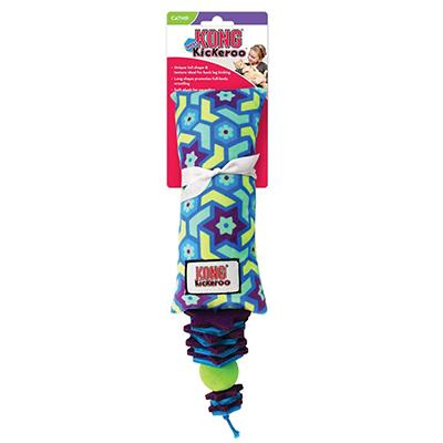 KONG Kickeroo Stacks Catnip Cat Toy
