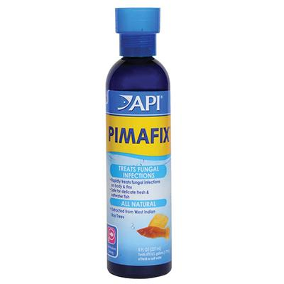 Pimafix Antifungal Antibiotic Aquarium Fish Remedy 8-oz.