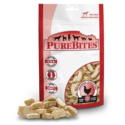 PureBites Freeze Dried Chicken Breast Dog Treat 3-oz