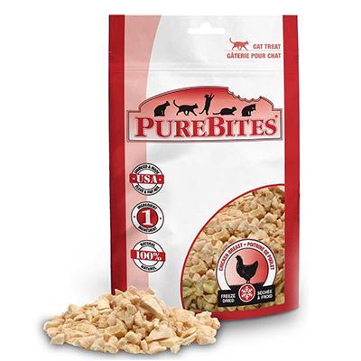 PureBites Freeze Dried Chicken Breast Cat Treat .6-oz