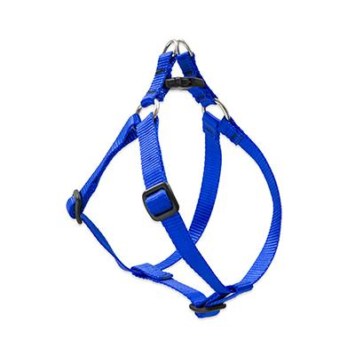 Lupine Nylon Dog Harness Step In Blue 24-38-inch Click for larger image