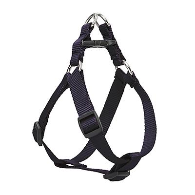 Lupine Nylon Dog Harness Step In Black 20-30
