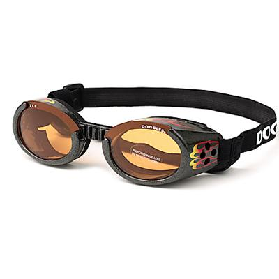 Doggles Eyeware for Dogs Flames Frame / Orange Lens Small