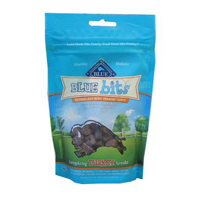 Blue Bits Turkey Soft Moist Training Treats for Dogs 4-oz