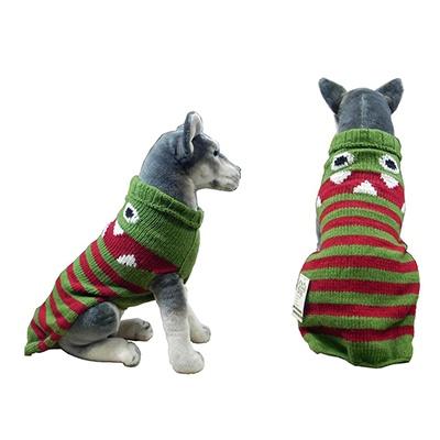 Handmade Dog Sweater Wool Lil Monster XSmall