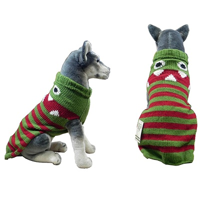 Handmade Dog Sweater Wool Lil Monster XLarge