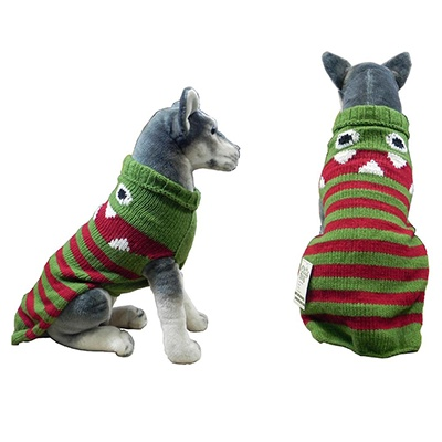 Handmade Dog Sweater Wool Lil Monster XXXLarge