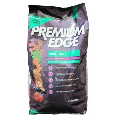 Premium Edge Lamb & Rice Adult Dog Food 6 Lb.