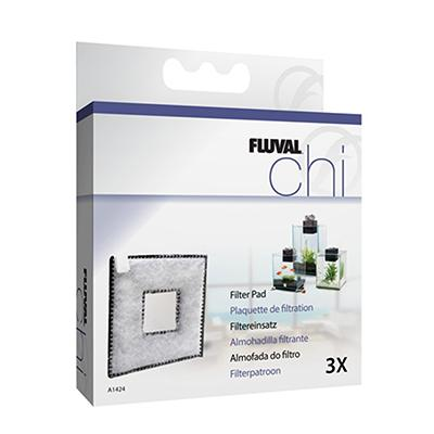 Fluval Replacement Chi Filter Pad 3-Pack Click for larger image