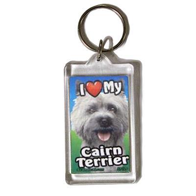 Plastic Keyring Cairn Terrier