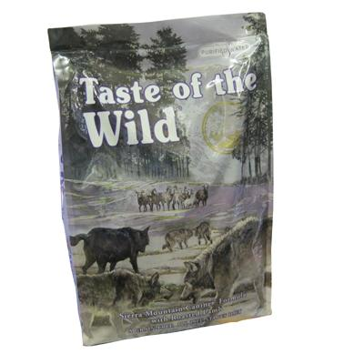Taste Of the Wild Sierra Mountain Grain-Free Dog Food 15 Lb.
