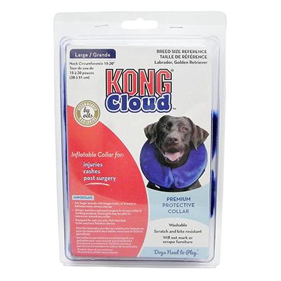 KONG Cloud Soft Inflatable E-Collar Large Click for larger image
