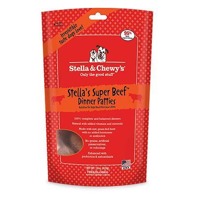 Stella Super Beef Raw Freeze Dried Dinner 15oz