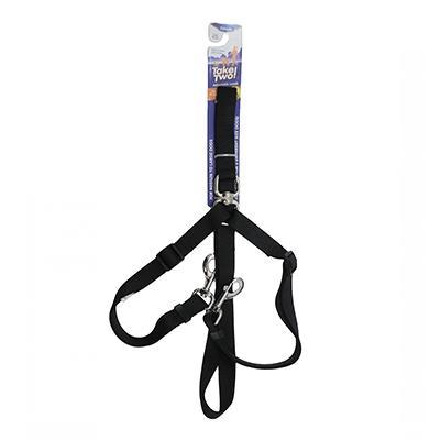 Petmate Take Two Adjustable Two Dog Leash