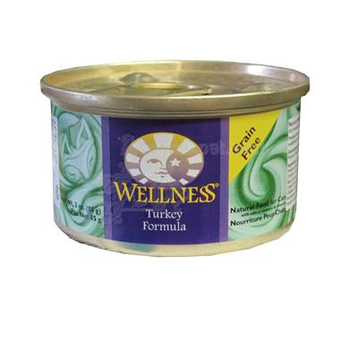 Wellness Turkey Canned Cat Food 3-oz. Each