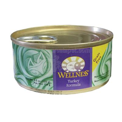 Wellness Turkey Canned Cat Food 5.5-oz. Each