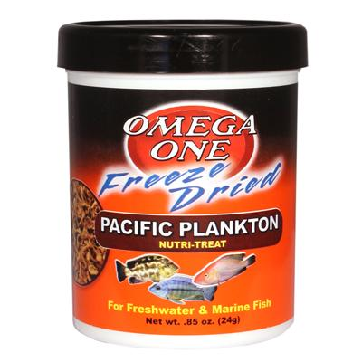 Omega One Freeze-Dried Pacific Plankton .85-oz. Click for larger image