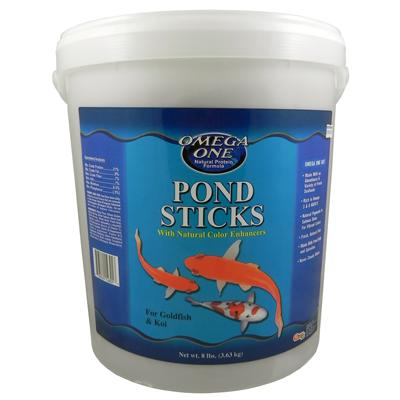 Omega One Pond Sticks Fish Food 8-Lb.