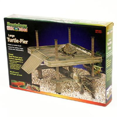Reptology Large Turtle Pier Terrarium Decoration Click for larger image