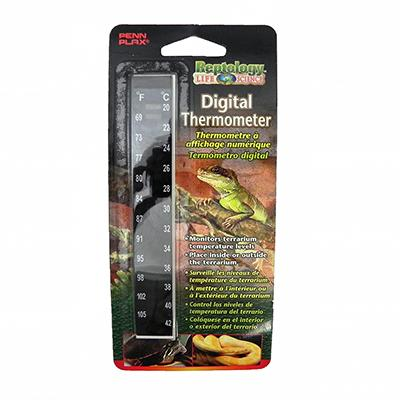 Reptology Self-Adhesive Digital Terrarium Thermometer Click for larger image