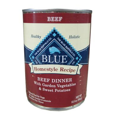 Blue Buffalo Homestyle Beef Dinner 13oz Canned Dog Food Each