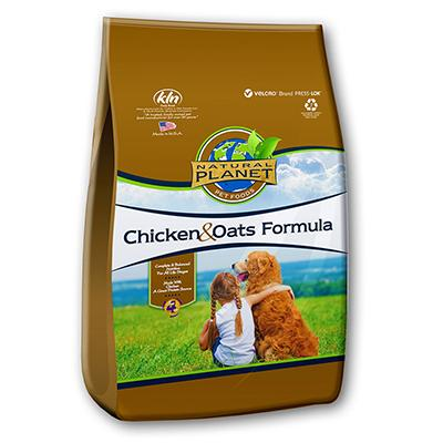 Natural Planet Organics Organic Dry Dog Food 15Lb.