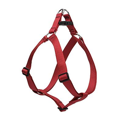 Lupine Nylon Dog Harness Step In Red 20-30-inch