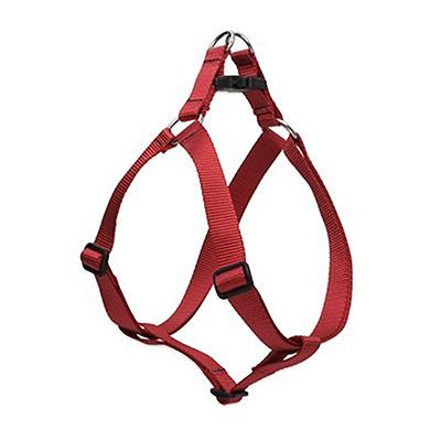 Lupine Nylon Dog Harness Step In Red 24-38-inch